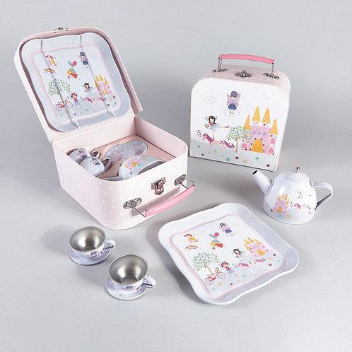 סט תה במזוודה 7 חלקים פיה וחד קרן Floss & Rock