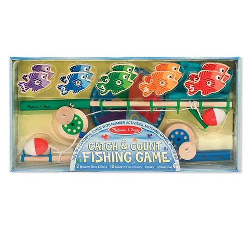 משחק דגים מעץ