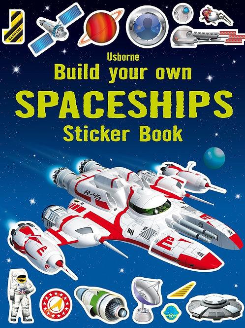 חוברת מדבקות - בניית ספינת חלל