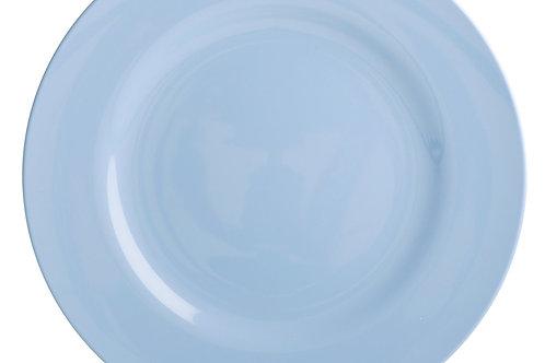 צלחת מלמין מנה עיקרית כחול בהיר