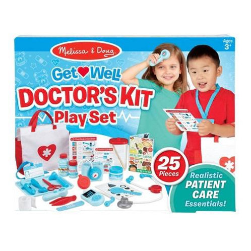 ערכת משחק רופא וחולה