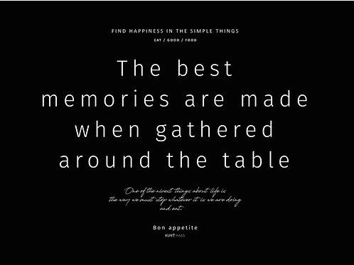 פלייסמנט זיכרונות שחור