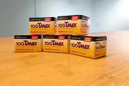 Kodak Professional T-Max 100 B&W Negative Film (35mm Roll Film, 36 Exp)