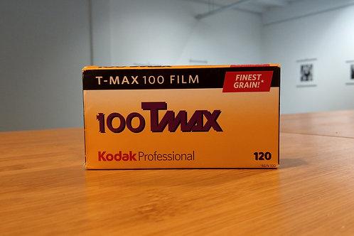 Kodak Professional T-Max 100 B&W Negative Film (120 Roll Film)