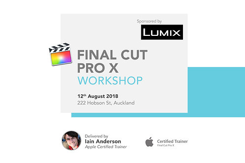 Final Cut Pro X Workshop