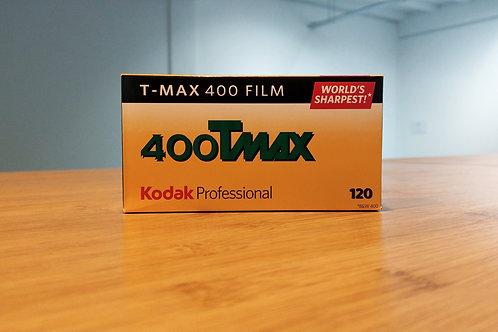Kodak Professional T-Max 400 B&W Negative Film (120 Roll Film)