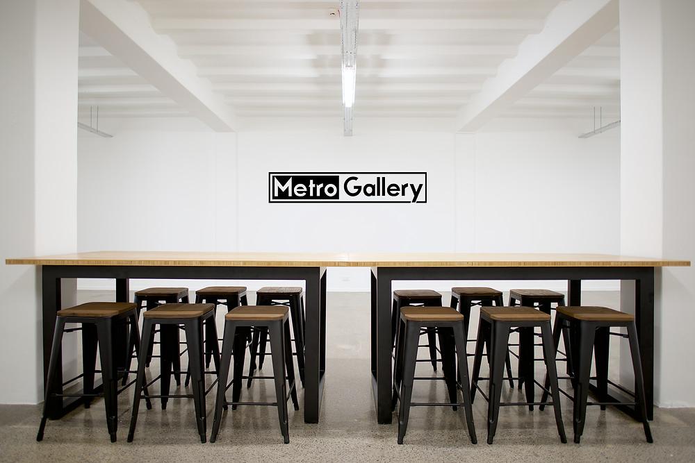 Metro Gallery, photo gallery Auckland logo