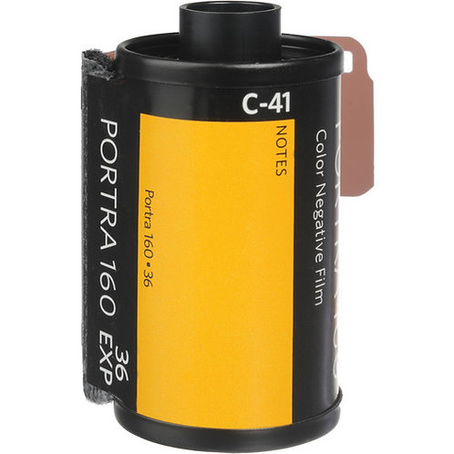 Kodak Professional Portra 160 Color Negative Film (35mm Roll Film, 36 Exp)