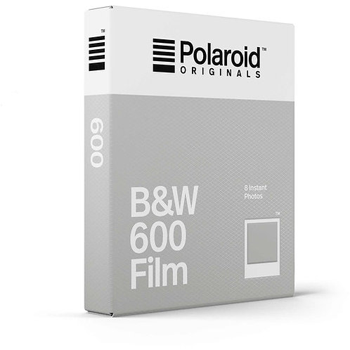 Polaroid Originals Black & White 600 Instant Film (8 Exp)