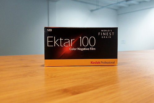 Kodak Professional Ektar 100 Color Negative Film 120 Roll