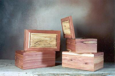 cedar & aspen keepsake boxes
