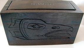 walnut cremains urn