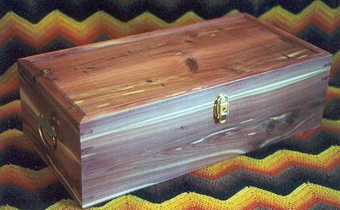 custom cedar box