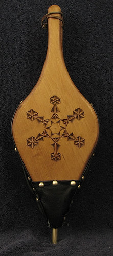 Chip Carved Snowflake #8