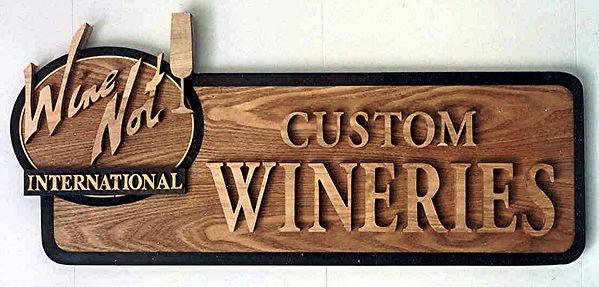 wine not international wineries sign