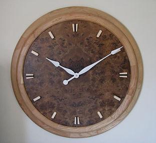 custom art deco wall clock