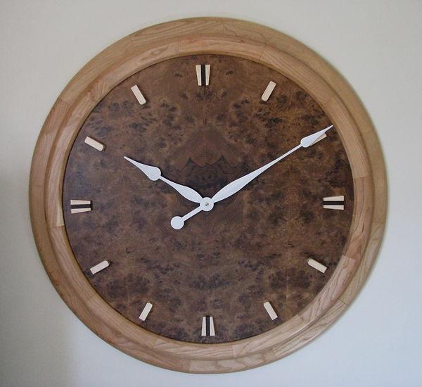 cusom art deco wall clock