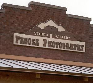 Pagosa Photography sign