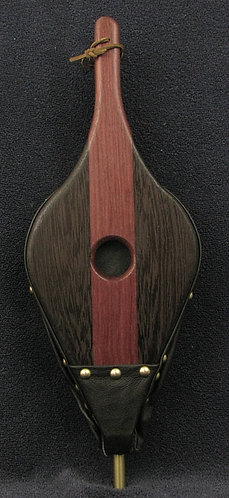 Purpleheart and Wenge Fireplace Bellows