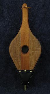 mahogany an quarter-sawn oak fireplace bellows