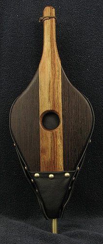Chechen and Wenge Fireplace Bellows