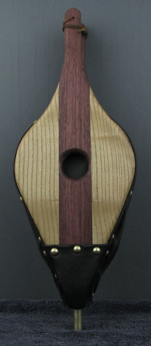 Purpleheart and  Catalpa Fireplace Bellows