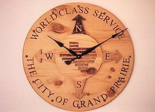 large conference room clock