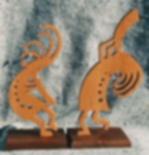 jamming kokopelli pair