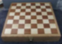 ash & jatoba chessboard