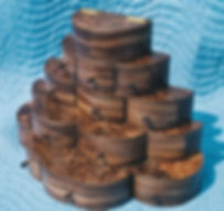 multi-level walnut jewelry box