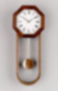 walnut & padauk pendulum clock