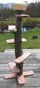 hemlock & cedar cat tree