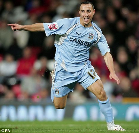 Mifsud during his run with Coventry City