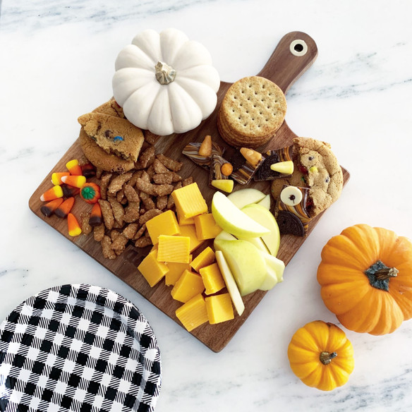 Easy Fall Apple + Cheese Board