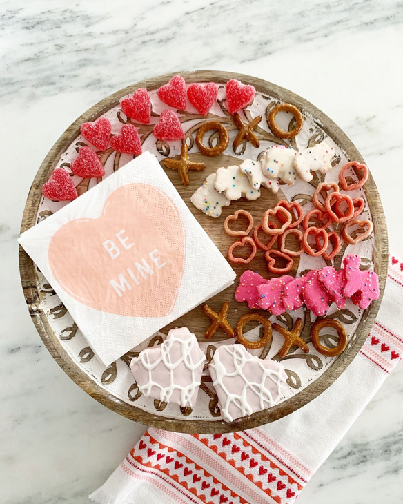 Valentine' s Day-Inspired Charcuterie {Treat} Board