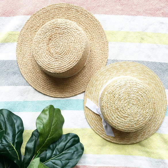Boater Hat: Mama + Me Style