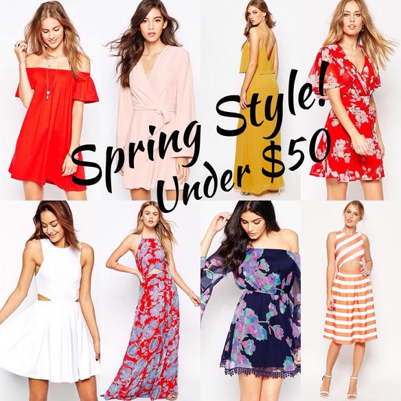 Spring Inspired Dresses