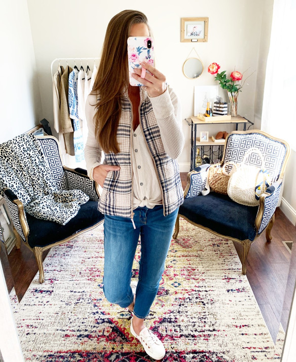 Fall Vests + Basics
