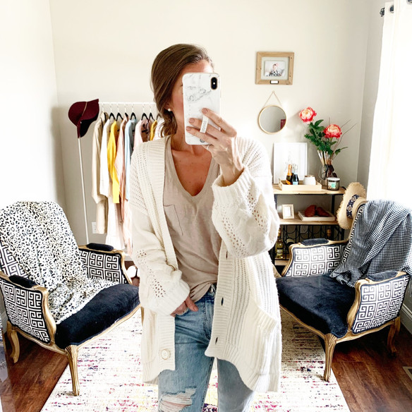 Neutral Cardigans for Spring