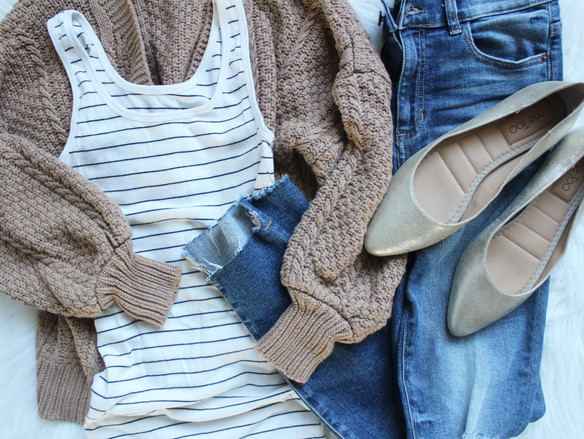 Weekend Style: Cozy Fall Basics