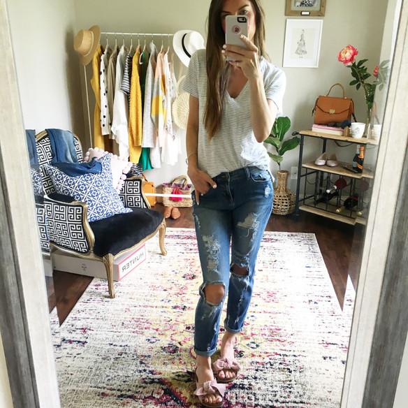 Jeans + Tee: The Basics