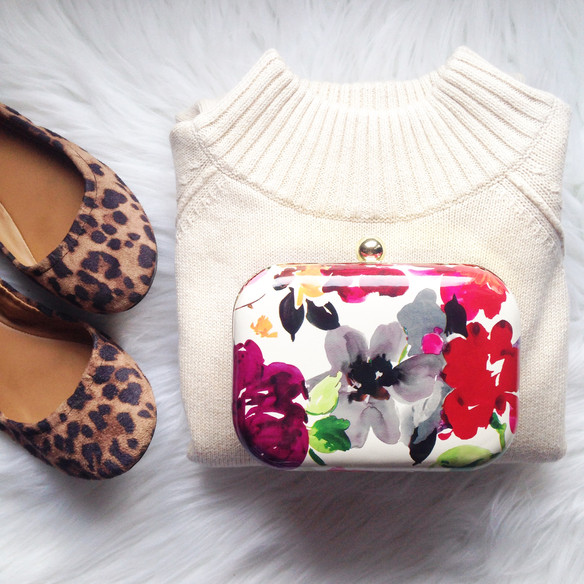Floral {Statement} Clutch