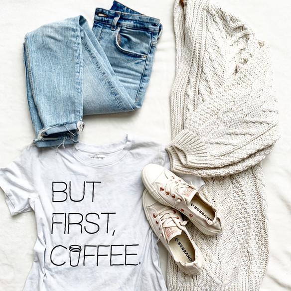 Cozy Cardigans + Basics