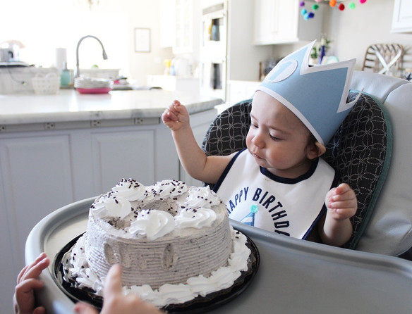 Happy FIRST Birthday, Baby Boy!