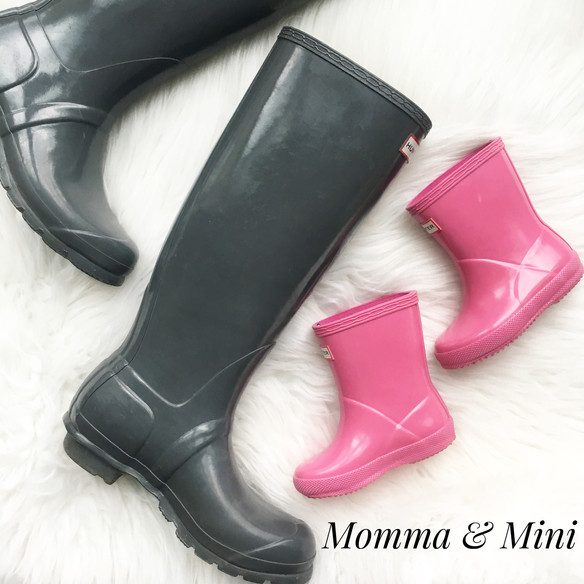 Wellies for Momma & Mini, & All!