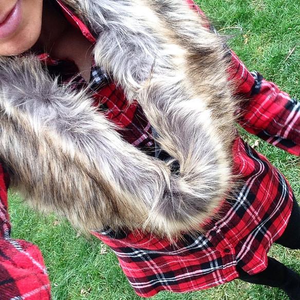 Faux Fur & Festive