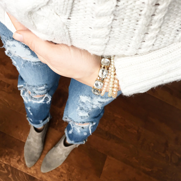 Denim & Ankle Boot Faves