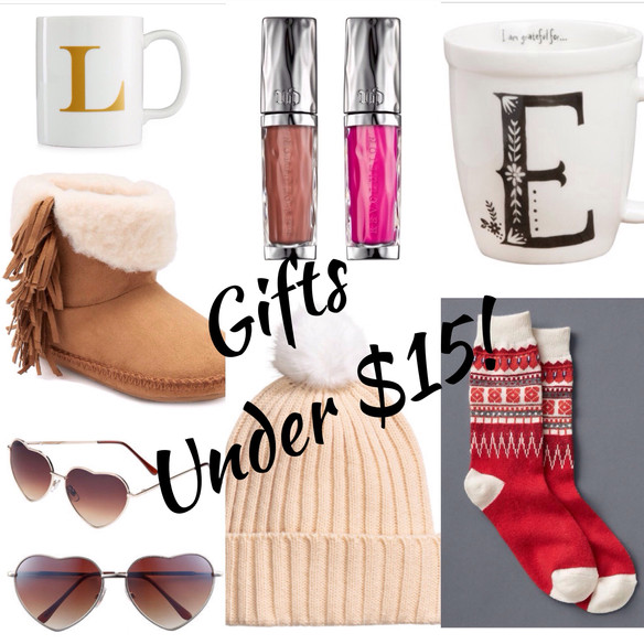 Gifts for Under $15!