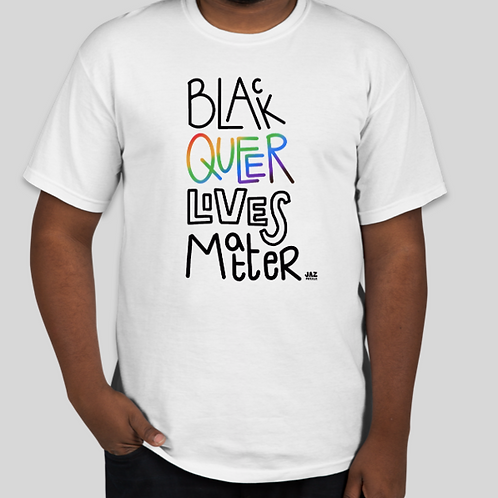 Black Queer Lives Matter T-Shirt