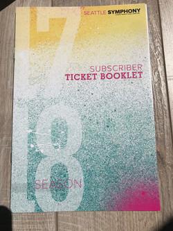 Subscriber Ticket Booklet